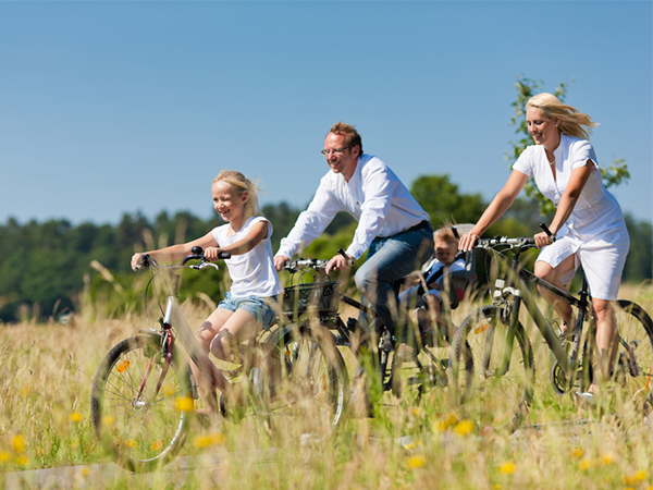 Out and about: Health benefits of biking and walking
