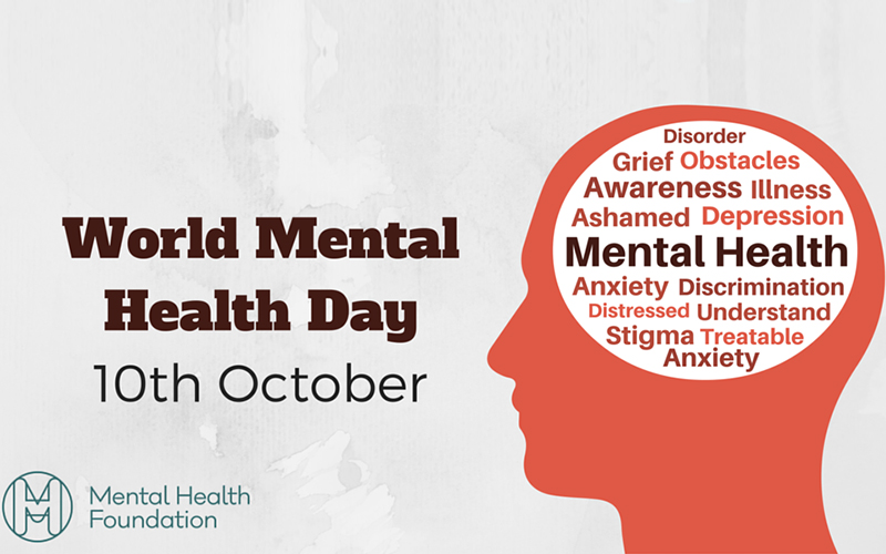 world mental health day 10th october 2016