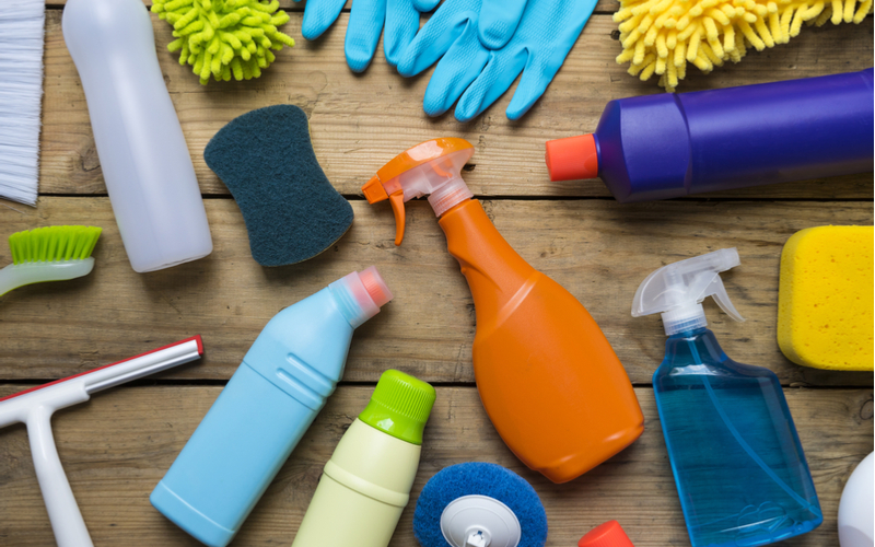 cleaning and asthma