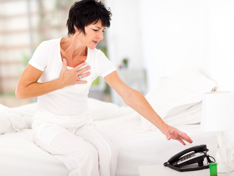 Increased chance of misdiagnosis of heart attacks in women