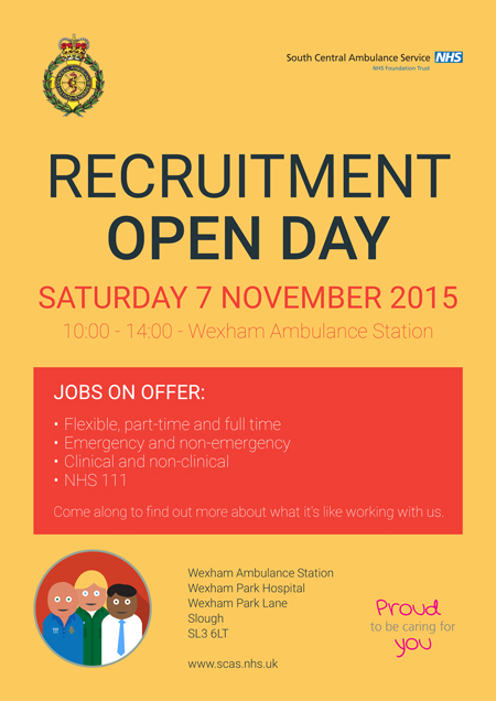 East Berkshire Paramedic Recruitment Open Day